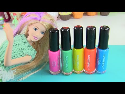 Vẽ Móng Tay Thời Trang Bằng Bộ Nước Sơn Townley Girls Cho Bạn Gái / Sơn Móng Tay Barbie