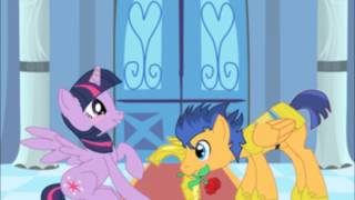 Twilight Sparkle, Flash, Donnie Y Abril Love Is In Bloom