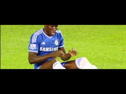 Demba Ba vs Aston Villa (Home) 13-14