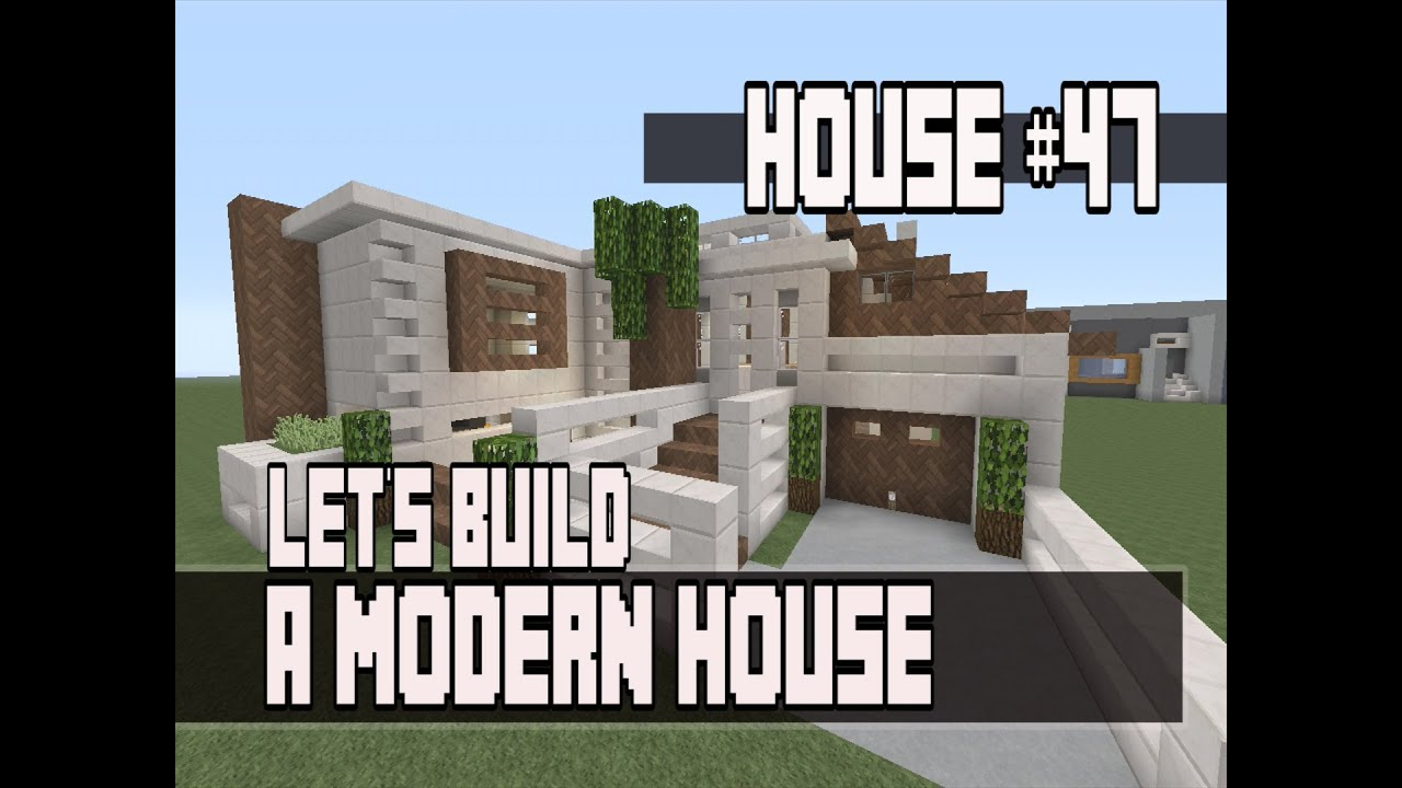 Let 39 s build a modern house in minecraft xbox 360 edition for Modern house 360