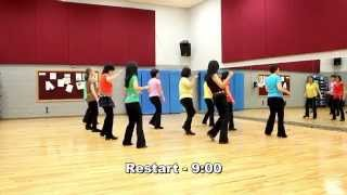 New Shade Of Blue Line Dance (Dance & Teach In English