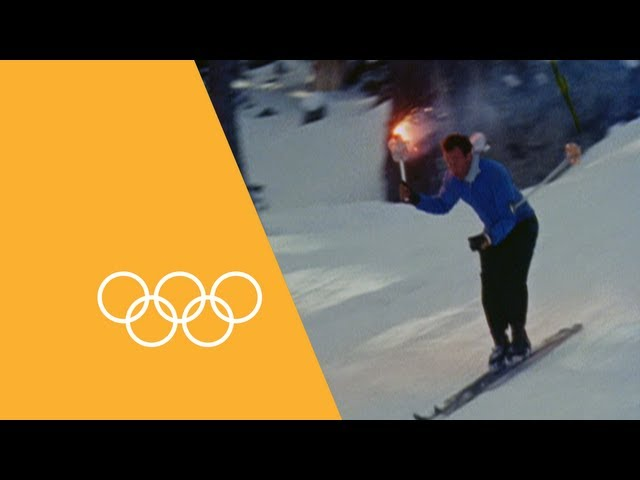 Winter Olympics - History Of The Torch Relay | 90 Seconds Of The Olympics