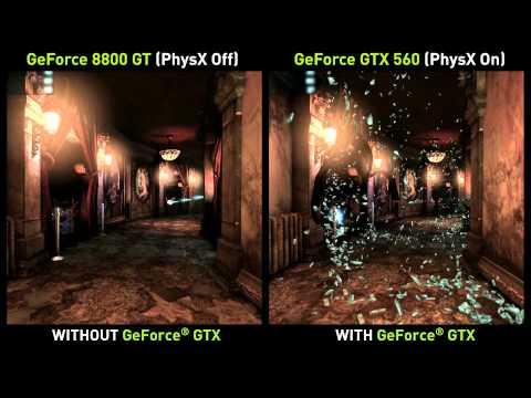 Демонстрация PhysX и тесселяции в игре