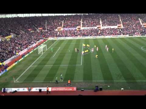 Jon Walters Penalty Stoke 1-0 Arsenal 1/3/14
