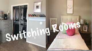 SWITCHING ROOMS | REARRANGING BEDROOMS | MOVING ROOMS
