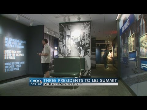 Carter, Clinton to speak at LBJ Library event; Bush and Obama may also attend