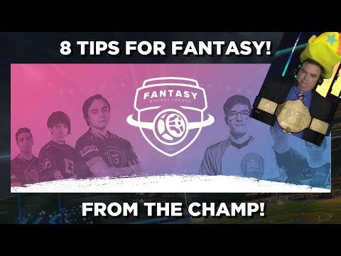 8 Tips for Fantasy Rocket League from the CHAMP!