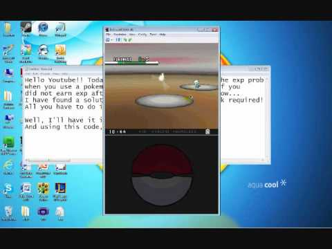How to Fix EXP Problem Pokemon Black/White - NO PATCH WORK REQUIRED!!!