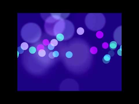 Bokeh Motion Background loop