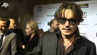 Johnny Depp Brings 'Rum' to La