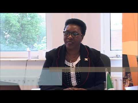 Interview with H.E. Ms. AMbassador, Vestine Nahimana