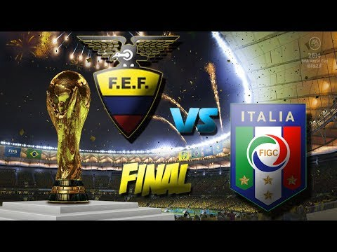 EA SPORTS 2014 FIFA World Cup Brazil - Ecuador vs Italia -FINAL