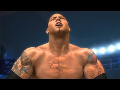 Wwe 2k14 Batista WWE 2K14 Gameplay - Ba...