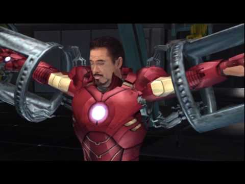 (#1) Iron Man 2 Game - Walkthrough & Playthrough Part 1 in HD.wmv