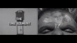 "THE TWILIGHT ZONE Pilot Episode: ""The Time Element"