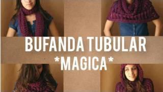 Cooking | como hacer bufanda magica tubular multiusos | como hacer bufanda magica tubular multiusos