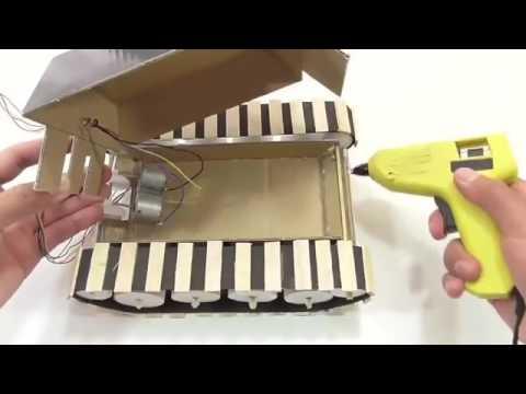 Cách làm một chiếc xe tăng điều khiển từ xa