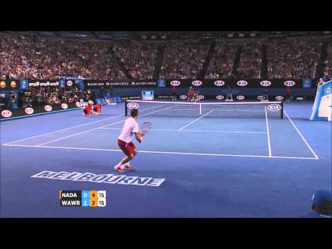 Wawrinka v Nadal highlights (men's final) - 2014 Australian Open