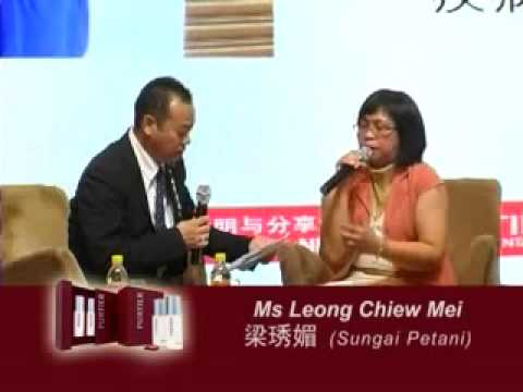 SUNGEI PETANI - MS LEONG CHIEW MEI - STROKE, HIGH BLOOD PRESSURE & DIABETES