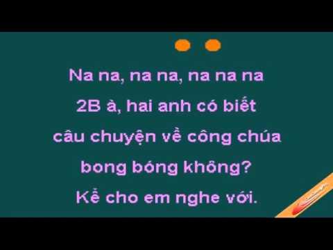 Karaoke công chúa bong bóng song ca cùng thienduong