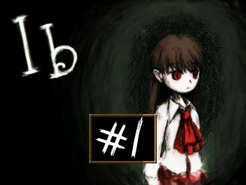 Ib - Part 1 | KILLER ART! | RPG Maker Horror Game | Gameplay/Commentary/Face cam reaction