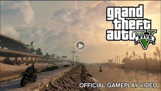 GTA V Gameplay Oficial #1 DUBLADO PT-BR