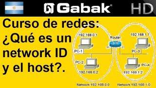Que es una network y el host