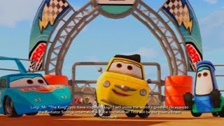 CARS ALIVE ! Daycare Toybox Disney Infinity