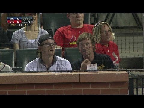 NHL legend Wayne Gretzky at Busch Stadium