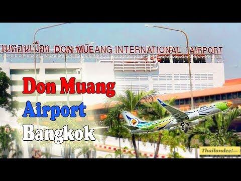 présentation de l'aéroport de don muang à bangkok