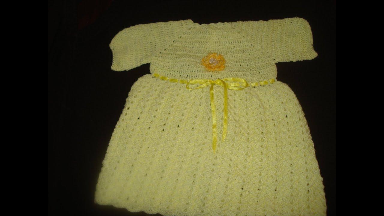 Vestidos De Gancho Para Bebe