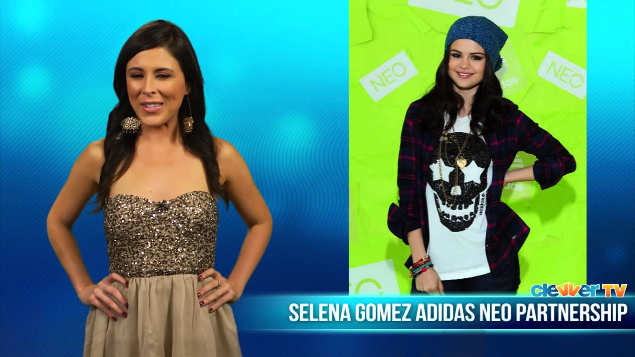 Selena Gomez Huge Fashion Announcement With Adidas Youtube