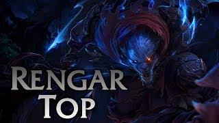 League Of Legends Night Hunter Rengar Top Full Game