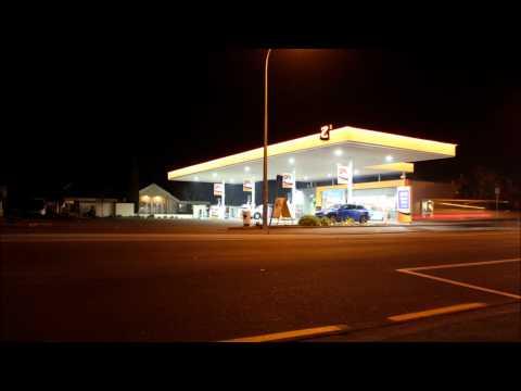 Petrol station timelapse