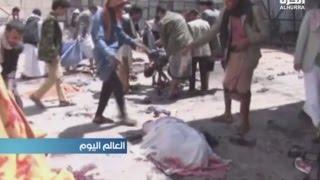 مقتل وإصابة العشرات في هجومين انتحاريين على مسجدين في صنعاء
