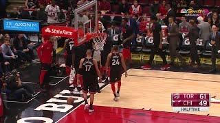 2nd Quarter, One Box Video: Chicago Bulls vs. Toronto Raptors