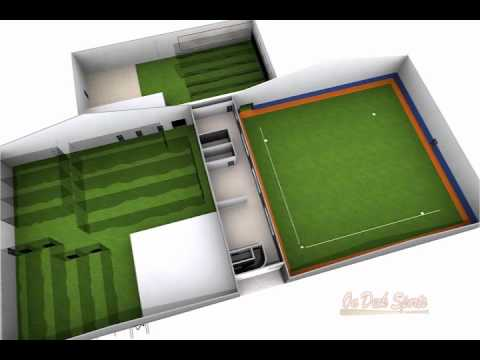 Indoor facility design design visualize and install on for Design indoor baseball facility