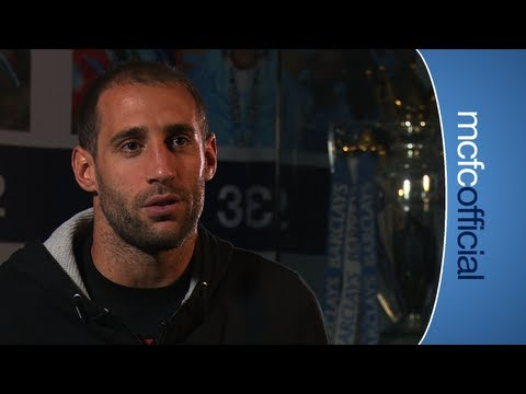 ZABALETA SIGNS Fan favourite Pablo Zabaleta signs a new contract with City