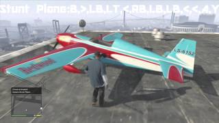 GTA 5 Cheat Codes Helicopters & Planes/Parachute