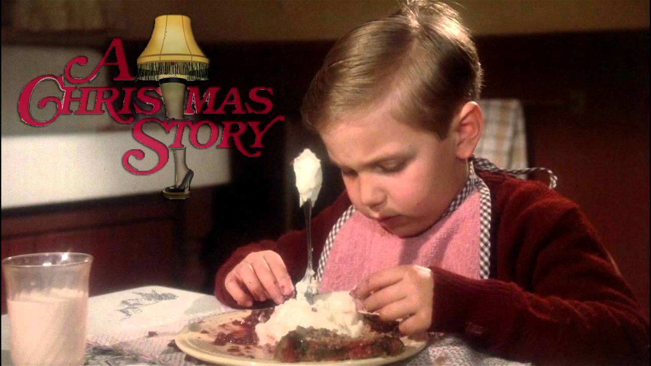 A Christmas Story Randy  A Christmas Story Gif Fight