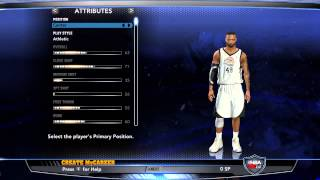 Nba 2k14 My Career 99 Overall Before Rookie Showcase