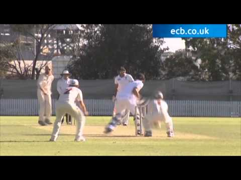 Highlights of England Performance Programme v Queensland 2nd XI