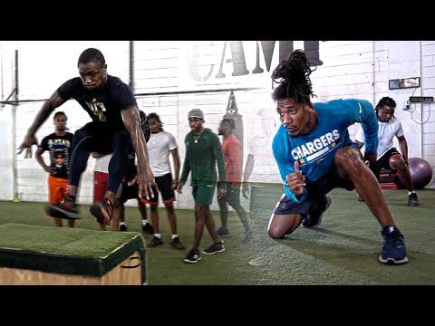 Lower Body Power & Strength For Football
