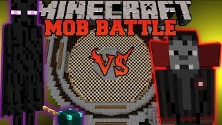 Ender Lord Vs. Vampire Overlord Minecraft Mob Battles