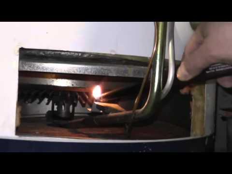 Como encender calentador de gas junkers