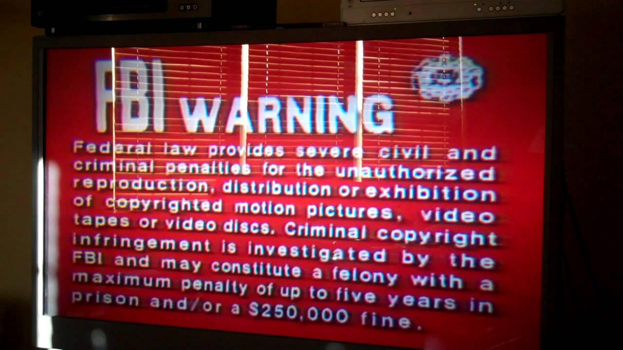 20th century fox home entertainmentfox video fbi warning