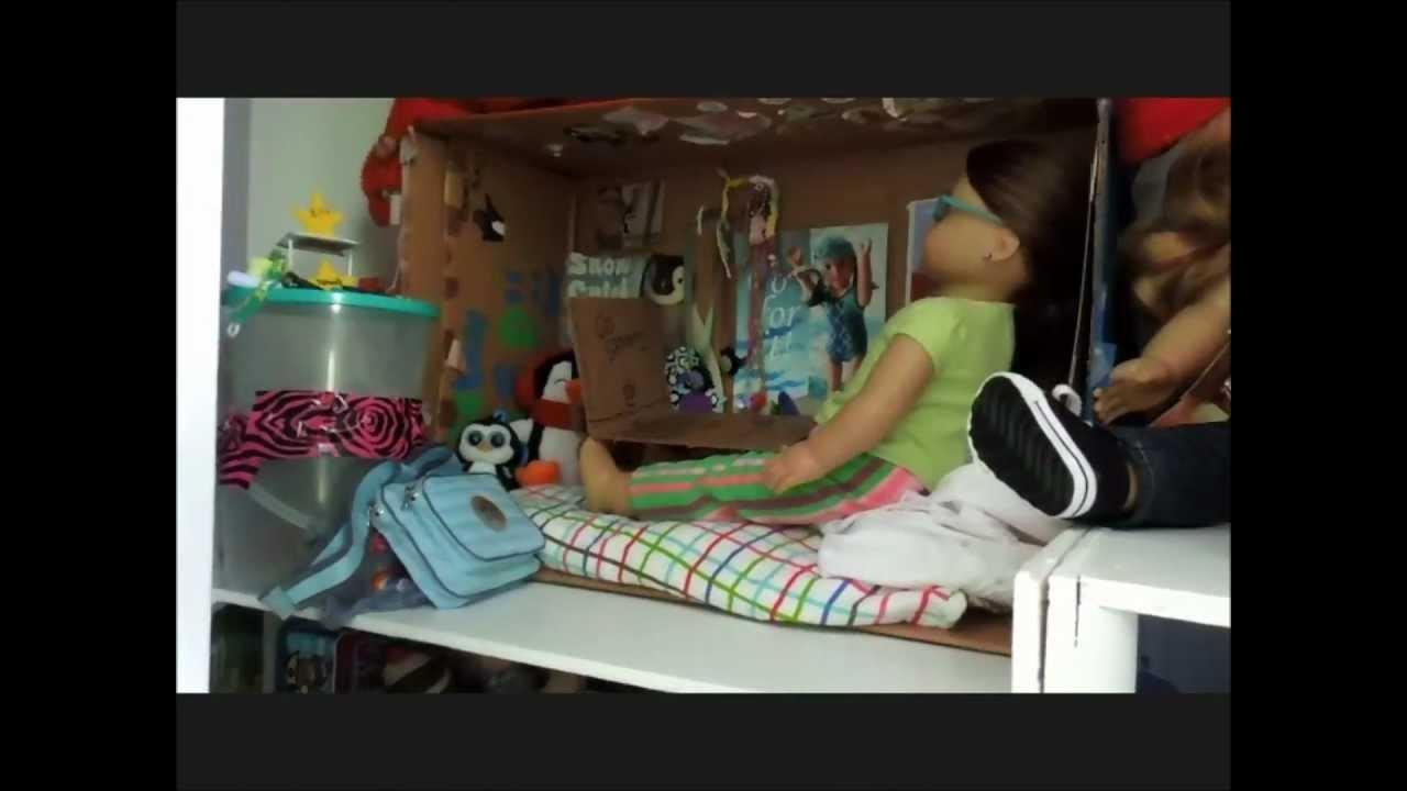 huge american girl doll house tour youtube