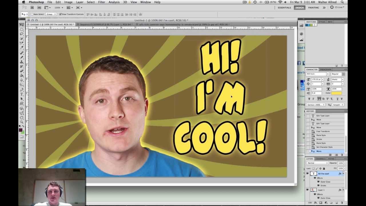 how to make custom thumbnails photoshop