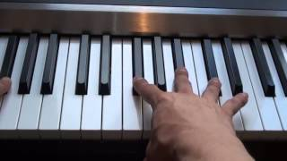 How To Play I See Fire On Piano Ed Sheeran The Hobbit