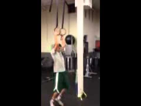 Joey C's first muscle up